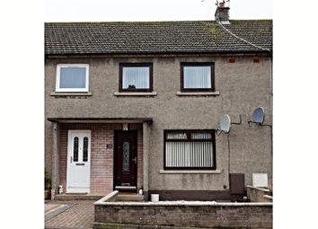 Thumbnail 2 bed terraced house for sale in Fruithill, Forfar