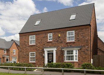 "Thumbnail 5 bedroom detached house for sale in ""Morecroft"" at London Road, Nantwich"