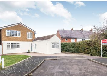 Thumbnail 3 bed detached house for sale in Barnfield Close, Great Glen, Leicester