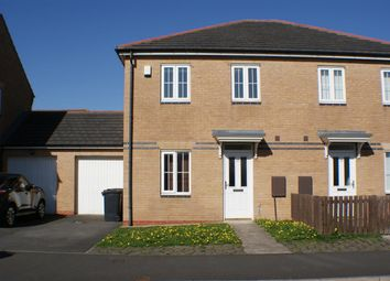 Thumbnail 3 bed semi-detached house for sale in Charnwood Avenue, Longbenton, Newcastle Upon Tyne