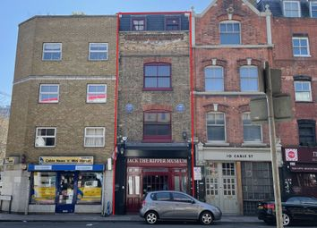Thumbnail Retail premises for sale in 'jack The Ripper' Museum, 12 Cable Street, Whitechapel, London
