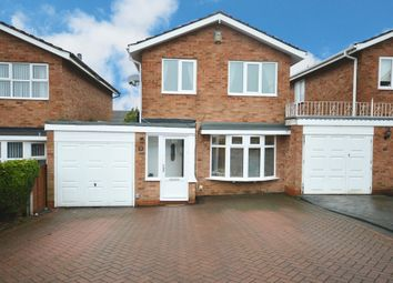 Thumbnail 3 bed link-detached house for sale in Mappleborough Road, Shirley, Solihull
