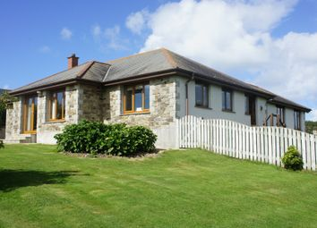 Thumbnail 5 bed detached bungalow to rent in Nancekuke, Redruth