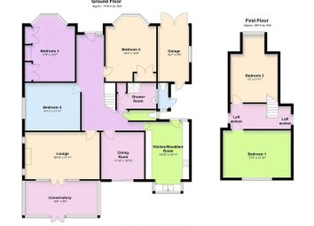 Thumbnail 5 bed detached house for sale in Craddocks Avenue, Ashtead