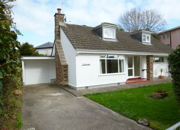 Thumbnail 3 bedroom detached bungalow for sale in Rosevale Estate, Penzance, Cornwall