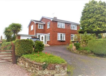 Thumbnail 3 bed detached house for sale in Station Road, Bangor-On-Dee, Wrexham