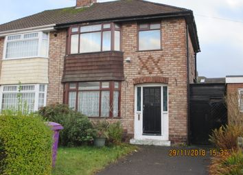 Thumbnail 3 bed semi-detached house for sale in Armscot Close, Hunts Cross