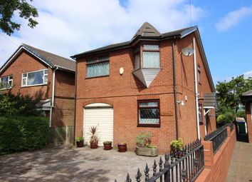 Thumbnail 4 bed detached house for sale in Bury Old Road, Heywood