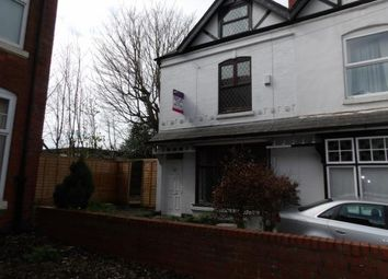 Thumbnail 4 bed semi-detached house for sale in Sefton Road, Birmingham, West Midlands