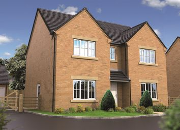 "Thumbnail 4 bed detached house for sale in ""The Houghton"" at West Hill Road, Retford"