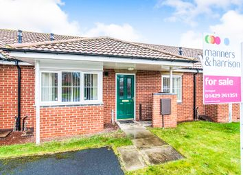 Thumbnail 2 bed terraced bungalow for sale in Hartoft Square, Hartlepool