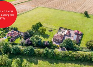 Thumbnail 5 bed farmhouse for sale in School Road, Tilney St. Lawrence, King's Lynn, Norfolk