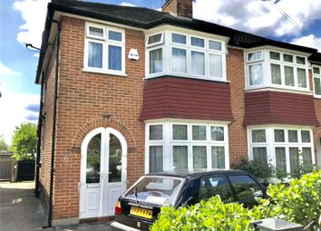 Thumbnail 3 bed semi-detached house to rent in Pentland Close, London