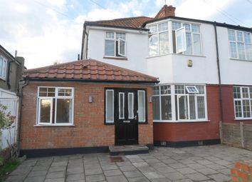 Thumbnail 5 bed semi-detached house to rent in Woodberry Avenue, North Harrow