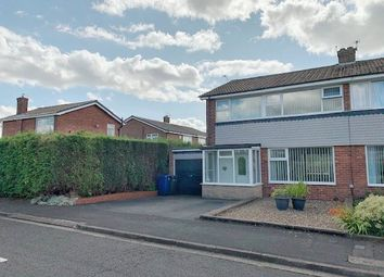 Thumbnail 3 bed flat for sale in Casterton Grove, Chapel Park, Newcastle Upon Tyne
