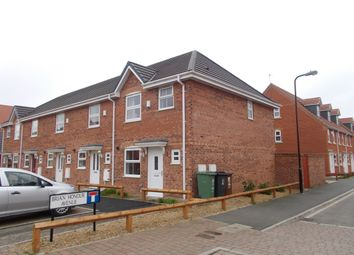 Thumbnail 3 bed end terrace house for sale in Brian Honour Avenue, Hartlepool