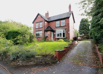 Thumbnail 4 bed detached house for sale in Congleton Road, Biddulph, Staffordshire