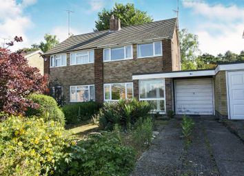 Thumbnail 3 bed semi-detached house for sale in Northfield Road, Fleet