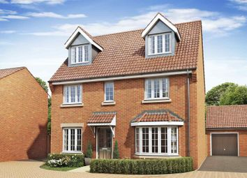 Thumbnail 5 bed detached house for sale in Chelveston Road, Raunds, Wellingborough