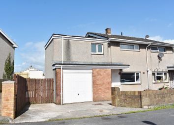 Thumbnail 3 bed semi-detached house for sale in Ffynon Wen, North Cornelly, Bridgend.