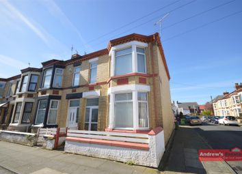 Thumbnail 3 bed terraced house for sale in York Road, Wallasey