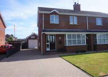 Thumbnail 3 bed semi-detached house for sale in Mayesfield Villas, Craigavon