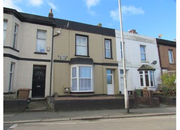 Thumbnail 3 bed terraced house for sale in Cheltenham Place, Plymouth