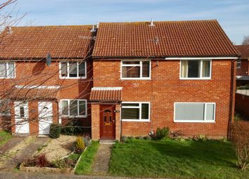 Thumbnail 2 bedroom terraced house for sale in Meadow Close, Trimley St. Martin, Ipswich