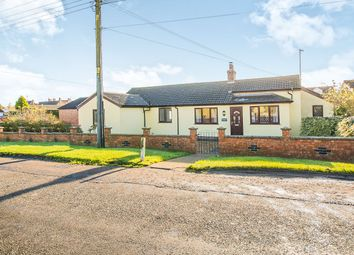 Thumbnail 4 bed detached bungalow for sale in Back Road, Murrow, Wisbech