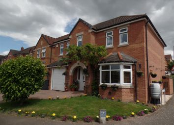 Thumbnail 4 bed detached house for sale in Carram Way, Lincoln