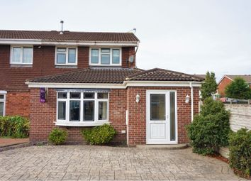 Thumbnail 3 bed semi-detached house for sale in The Pastures, Swadlincote