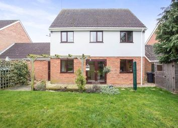 Thumbnail 4 bedroom link-detached house for sale in Sporle, King's Lynn