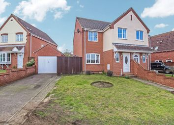 Thumbnail 3 bed semi-detached house for sale in Alexander Close, Beccles