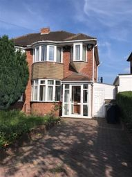 Thumbnail 3 bed semi-detached house to rent in Willclare Road, Birmingham