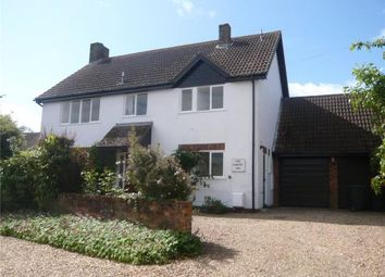 Thumbnail 4 bed detached house to rent in High Street, Great Barford, Bedford