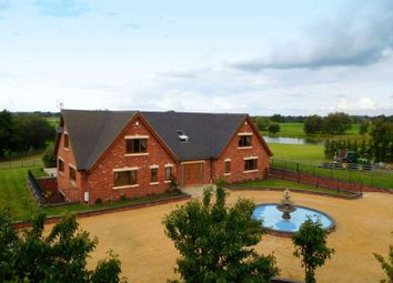 Thumbnail 6 bed detached house for sale in Crewe Road, Walgherton, Nantwich