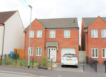 Thumbnail 4 bed detached house for sale in Meadowlands Avenue, Bridgwater