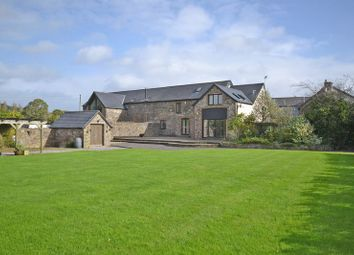 Thumbnail 4 bed semi-detached house for sale in Barn Conversion With Land, Coedkernew, Newport