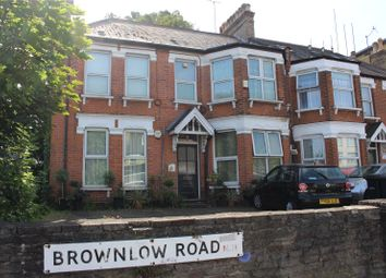 Thumbnail 1 bed flat to rent in Brownlow Road, Brownlow Road, London