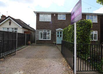 Thumbnail 3 bed semi-detached house for sale in Coleridge Road, Ashford