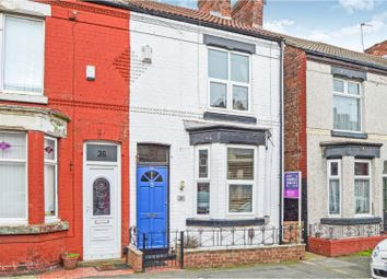 Thumbnail 2 bed terraced house for sale in Brentwood Street, Wallasey, Wirral