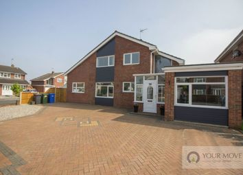 Thumbnail 5 bed detached house for sale in Longfield Way, Lowestoft
