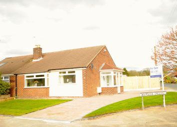 Thumbnail 2 bed bungalow for sale in Wilmslow Crescent, Thelwall, Warrington