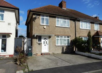 Thumbnail 3 bed semi-detached house to rent in St. Leonards Gardens, Heston, Hounslow