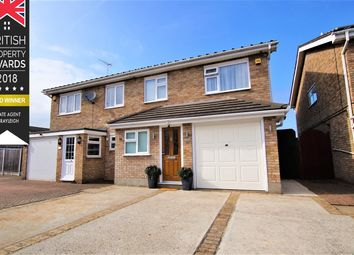 Thumbnail 4 bed semi-detached house for sale in Rowan Walk, Leigh-On-Sea