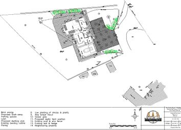 Thumbnail Land for sale in Plot For A Replacement House, Bilbrook, Minehead