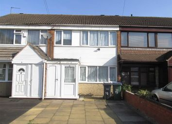 Thumbnail 3 bedroom terraced house to rent in Ardav Road, West Bromwich