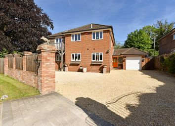 Thumbnail 4 bed detached house for sale in Barlows Lane, Andover