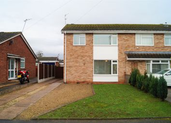 Thumbnail 3 bed semi-detached house for sale in Canada Way, Worcester