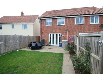 3 bed semi-detached house for sale in Binyon Close, Stowmarket IP14